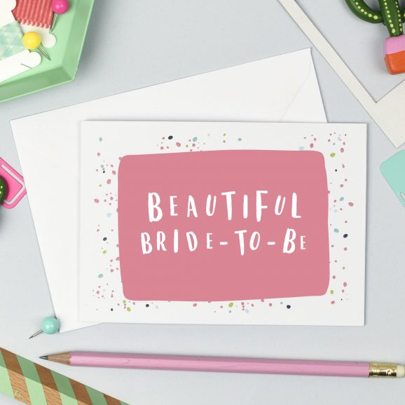 Bride to be Hen Party Card
