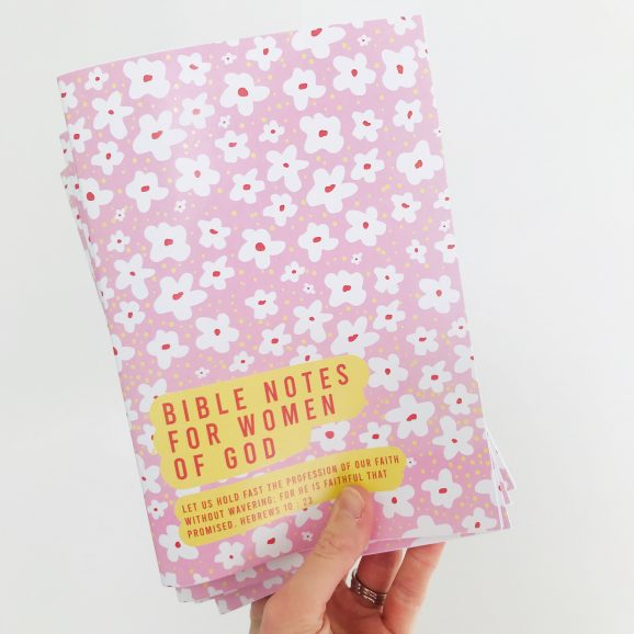 Bible Notebook for Women