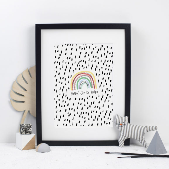 Rainbow of Hope Print