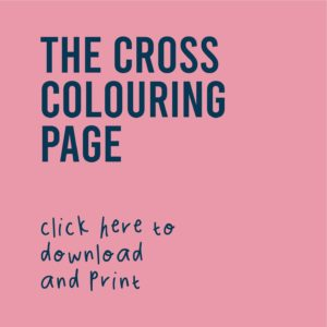 Free Cross Colouring Page