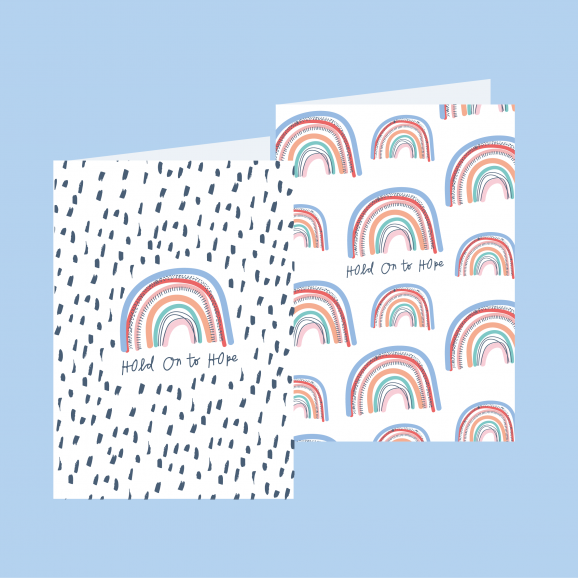Rainbow Hope Greeting Cards