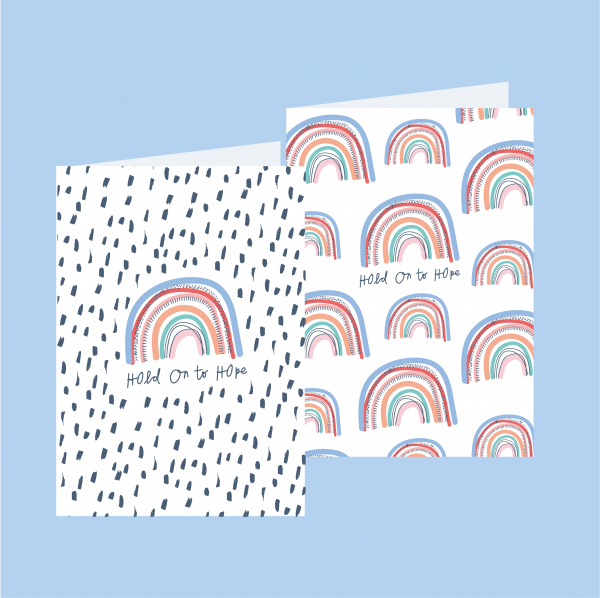Rainbow Hope Greeting Cards